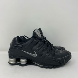 Nike Black and Silver Shox